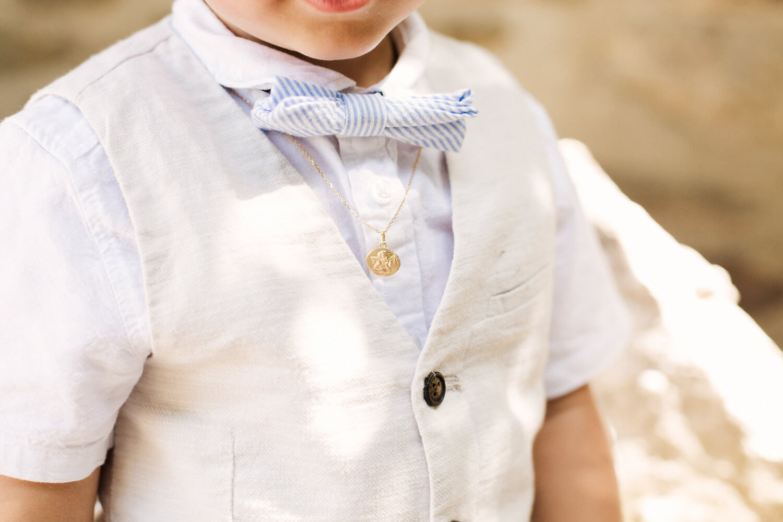 Photo du collier de baptême